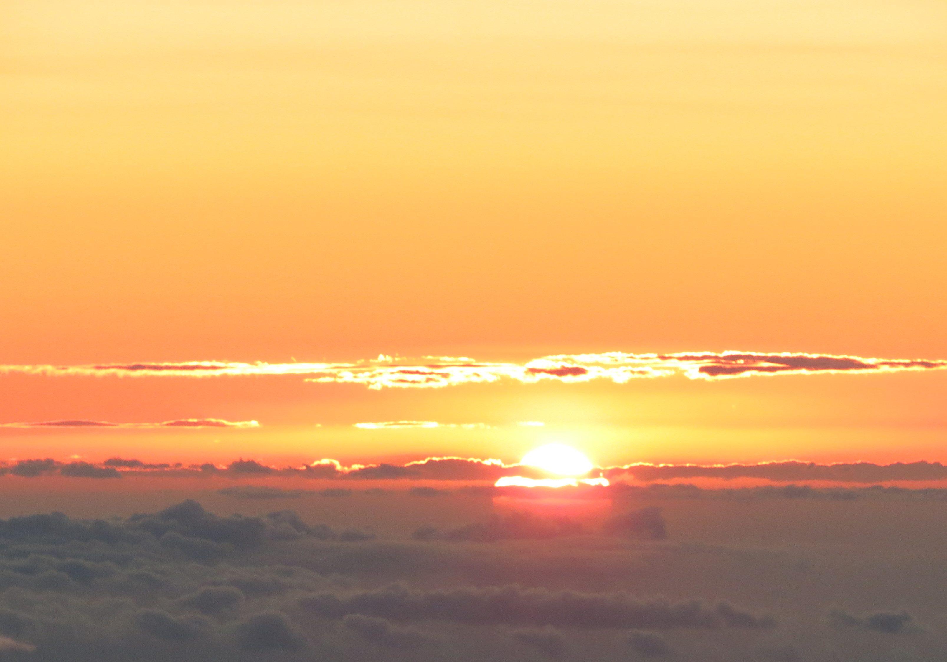 Zonondergang Hawaii